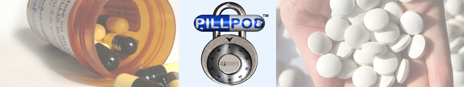 Pill Pod Drug Lock Box